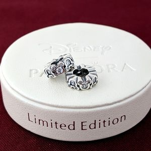 Pandora Disney Mickey Mouse Spacers Clear CZ